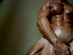 Sexy Muscle vidz Hunk Adam  super Charlton shows off his juicy muscles