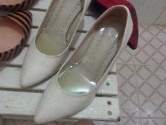 BRA HIGH vidz HEEL SHOE  super W33 high heel shoe bra. WIFE's heel shoe