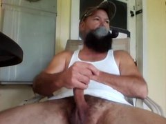 Redneck Pipe vidz Smoking and  super Stroking