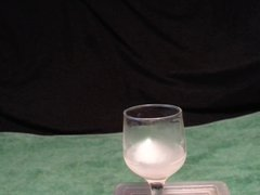 Taste and vidz swallow cum  super from glass