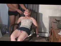 First bondage vidz video Izze  super Bell