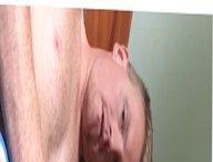 White boy vidz messing metal  super through the urethra
