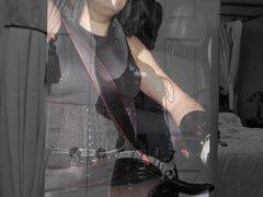 Tixa Doll vidz - Latex  super Heels
