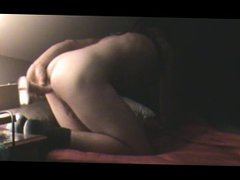 jennifer getting vidz her ass  super machine fucked deep and hard