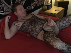 Orgasm in vidz Bodystocking