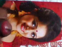 Kavya madhavan vidz huge facial  super cum tribute and dirty talk