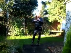 Emma in vidz thigh high  super boots