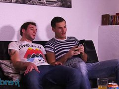 Double penetration vidz of a  super young French twink