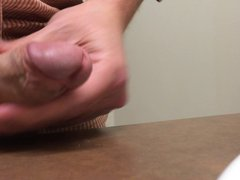 Small cock vidz oozing thick,  super sperm load