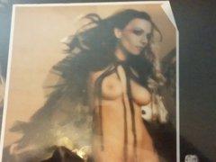 Cristina Scabbia vidz nude fake  super Cum tribute