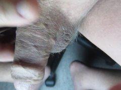 68 yrold vidz Grandpa #140  super mature cum close closeup wank uncut