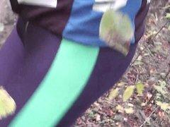 Double cumshoot vidz in lycra  super shorts