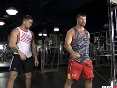 Adam Killian vidz Fucks Muscle  super Man Trenton Ducati