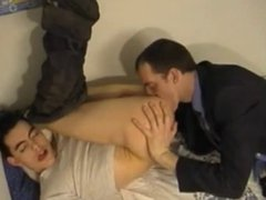 Twink gets vidz fucked by  super various guys!!!