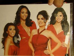 Latinas tribute vidz : Longoria  super Hayek Gomez Saldana