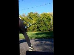 Transparent 2 vidz Jogging pants  super With CUM