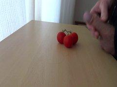 cum on vidz food -  super tomato