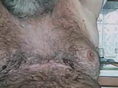 Big Hairy vidz Mature Daddy  super Bear Wanks
