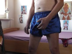 shorts und vidz string aus  super satin