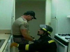 Cop and vidz the fireman
