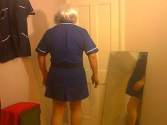 Dee as vidz a sexy  super nurse they like me at work