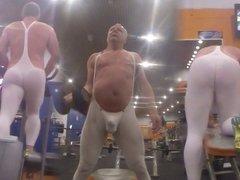 At the vidz gym in  super Tendenze spandex Pt 2