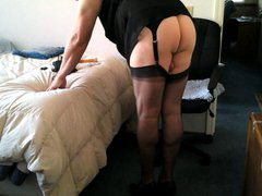 A Horny vidz Day for  super a Sissy Nylon Gurl