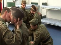 Soldiers Again vidz Bare and  super HOT swallow