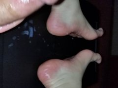 Cum On vidz My Feet  super 2