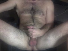 Me Stroking vidz Shaved Cock  super and Cumming