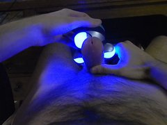 Hands free vidz cum with  super massager
