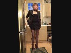 Little black vidz dress photoshoot  super 2