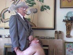Chubby Sucks vidz Grandpa