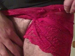 Red Lace vidz panties