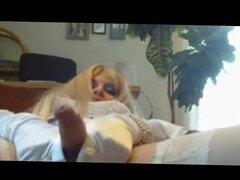 Blonde TS vidz on Cam  super BVR