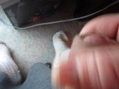 68 yrold vidz Grandpa #152  super mature cum close closeup wank uncut