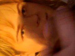 blonde slut vidz from Poland  super Agnieszka Moderska facial tribute