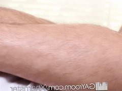 HD - vidz GayRoom Oiled  super up massage turns into wild suck and fuck