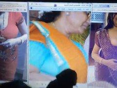 desi banulatha vidz with 2  super big boobs friends