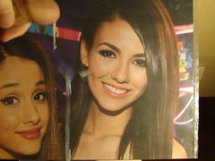 Ariana Grande vidz and Victoria  super Justice tribute