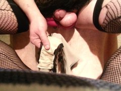 Panty Prostate vidz Dildo Milking  super pt. 2 of 2