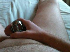 In my vidz chastity cage