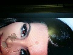 Kim Kardashian vidz Cum tribute  super no.2 Slow motion