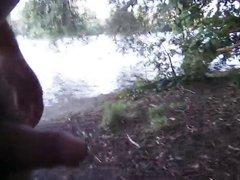 At the vidz river