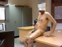 Alone in vidz office