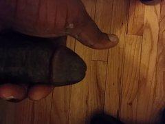 Dick in vidz hand