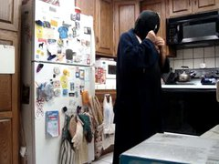 Ida gets vidz erection at  super Lynda S photos in Backless hoodie mask