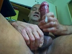 Webcam-session with vidz multi cock  super ring, much cumm, eating it