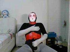 me and vidz my mask  super wanking 2