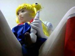 kigurumi sailor vidz moon wanking